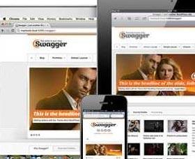 Mejores plantillas WordPress: Swagger