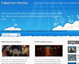 Mejores plantillas WordPress gratis: Irissa