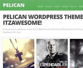 Mejores plantillas WordPress gratis Pelican