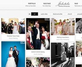Mejores plantillas WordPress para fotos JPhotolio