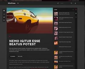 Mejores plantillas WordPress para un blog: WirePress