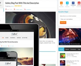 Mejores plantillas para un blog WordPress: Official