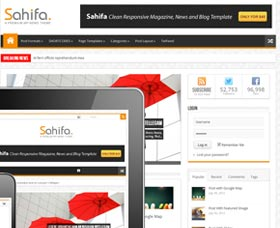 Mejores temas WordPress para revistas y noticias: Sahifa