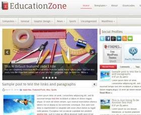 Plantillas WordPress gratis: EducationZone