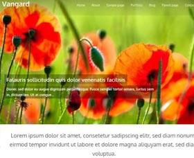 Plantillas WordPress gratis Vanguard