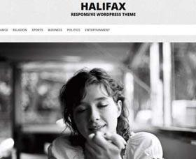 Plantillas WordPress gratis responsive: Halifax