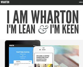 Plantillas WordPress multiusos: Wharton