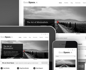 Plantillas WordPress para blog SEO: Good Space