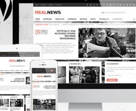 Plantillas WordPress para noticias: Realnews