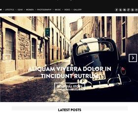 Plantillas WordPress para revistas: Marroco