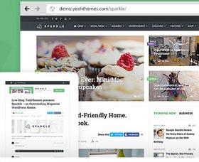 Plantillas WordPress para revistas Sparkle