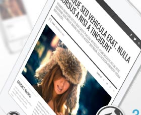 Plantillas WordPress para revistas y noticias: Presso