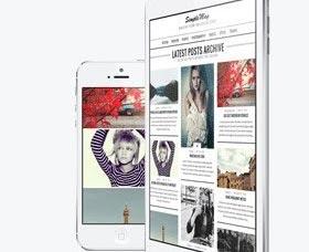Plantillas WordPress para revistas y noticias: SimpleMag