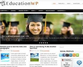 Plantillas gratis WordPress: EducationWP