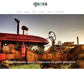 Plantillas gratis para WordPress Quora