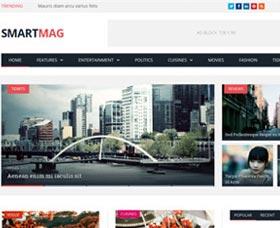Temas WordPress para revistas: SmartMag