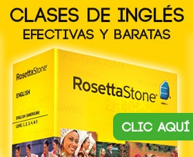 clases de inglés rosetta stone