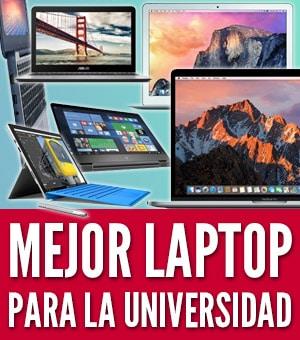 mejor laptop para la universidad