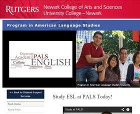 Cursos de inglés en New Jersey: Rutgers Newark