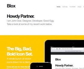 Plantillas rápidas WordPress: Blox