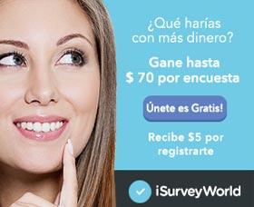 encuestas por dinero en mexico isurveyworld