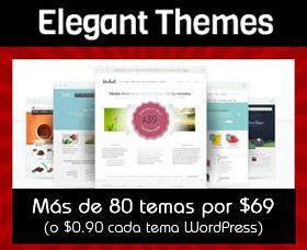 plantillas temas wordpress rapidos elegant themes