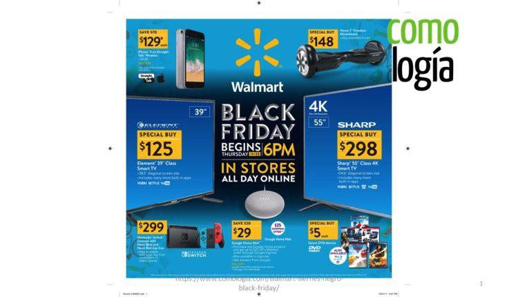 Walmar ofertas viernes negro 2017