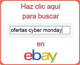 ahorrar en cyber monday lunes cibernetico