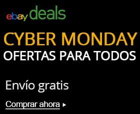 lista de ofertas de lunes cibernetico ebay cyber monday
