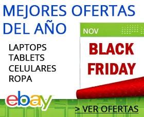 lista de ofertas de viernes negro black friday ebay