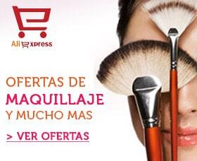 maquillaje black friday aliexpress viernes negro ofertas