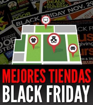 mejores tiendas para comprar en black friday
