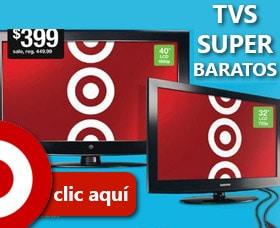 ofertas ahorrar dinero en cyber monday televisores target