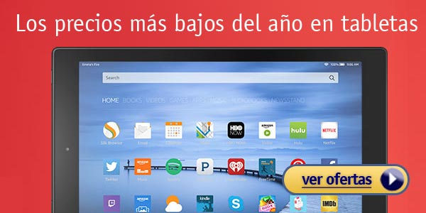 ofertas amazon black friday tabletas viernes negro