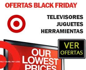 Qué NO comprar en Black Friday target