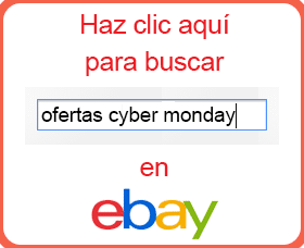 que comprar en cyber monday ebay amazon