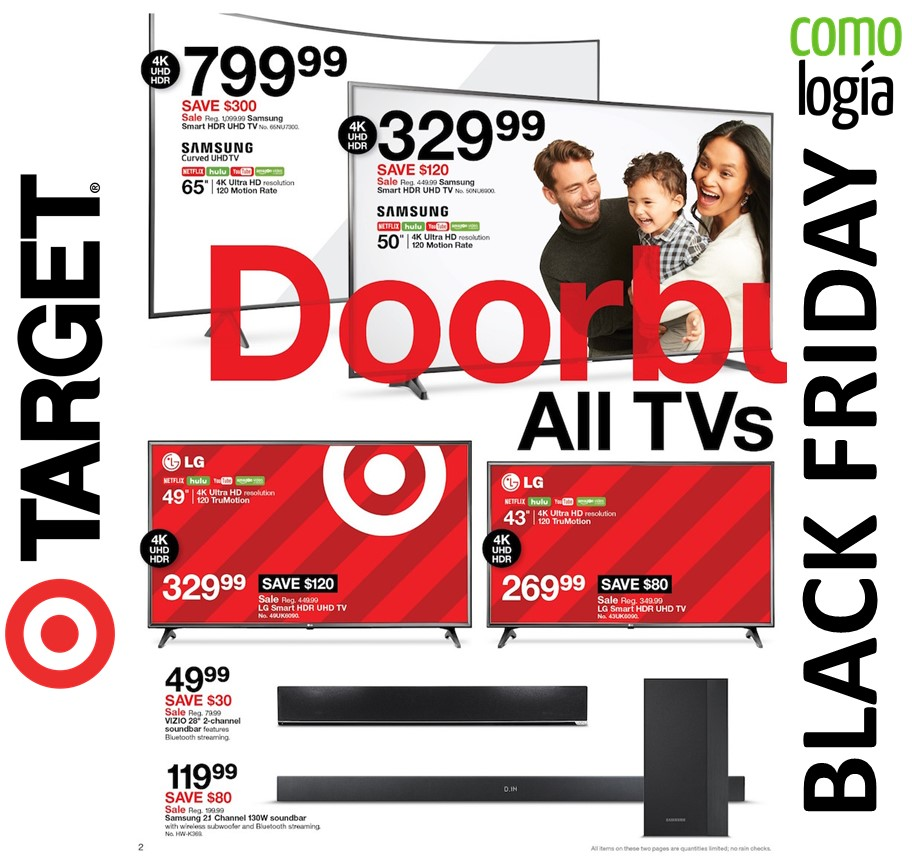 69ce23c0d Target Black Friday 2019  🎯 MEJORES ofertas Black Friday + FOLLETO