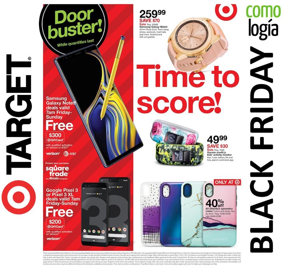 e106ef526 Target Black Friday 2019  🎯 MEJORES ofertas Black Friday + FOLLETO