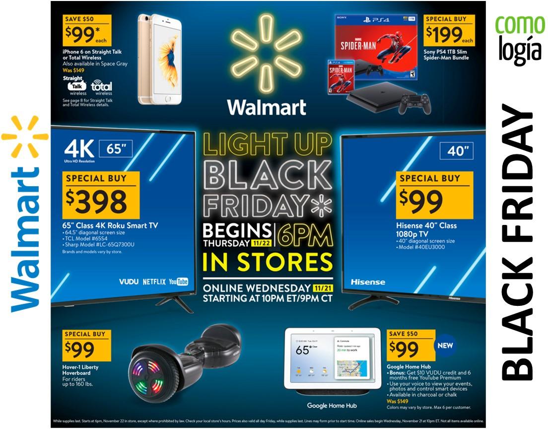 Walmart Viernes Negro 2019 Ofertas De Walmart Black Friday Video