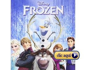 Mejores regalos de navidad para niñas: Películas de Disney frozen elsa