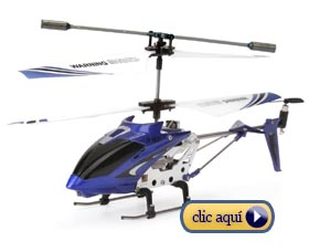 Qué regalar en navidad: Helicóptero a control remoto