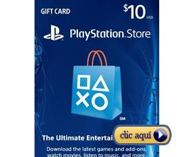 Regalos de navidad de último minuto: Tarjeta de regalo PlayStation