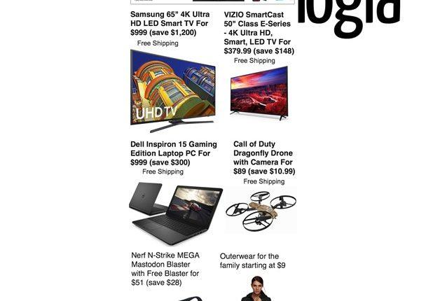 Walmart tv deals cyber monday 2018