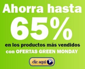 mejores ofertas green monday lunes verde