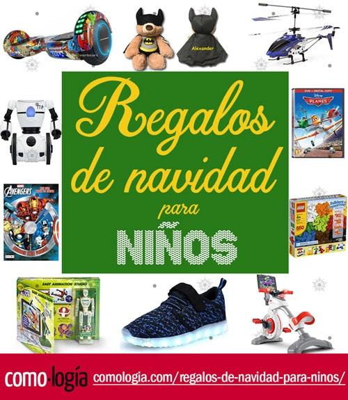 mejores regalos de navidad para niños