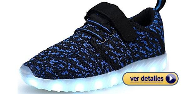 zapatos con luces regalos de navidad para ninos