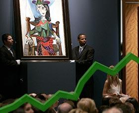 Dónde invertir dinero: arte, antigüedades y coleccionables