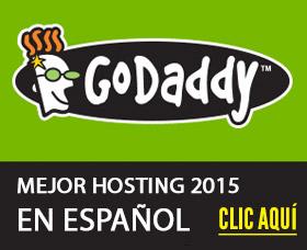 Mejor hosting 2015 español: GoDaddy