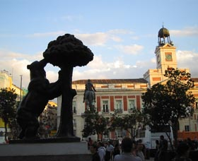 Las 10 mejores atracciones de madrid qu hacer en madrid - Como llegar a la puerta del sol ...