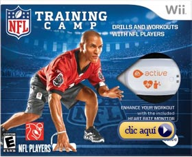 Perder peso jugando: Active NFL Training Camp